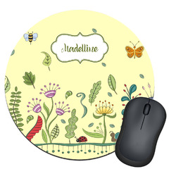Nature Inspired Round Mouse Pad (Personalized)