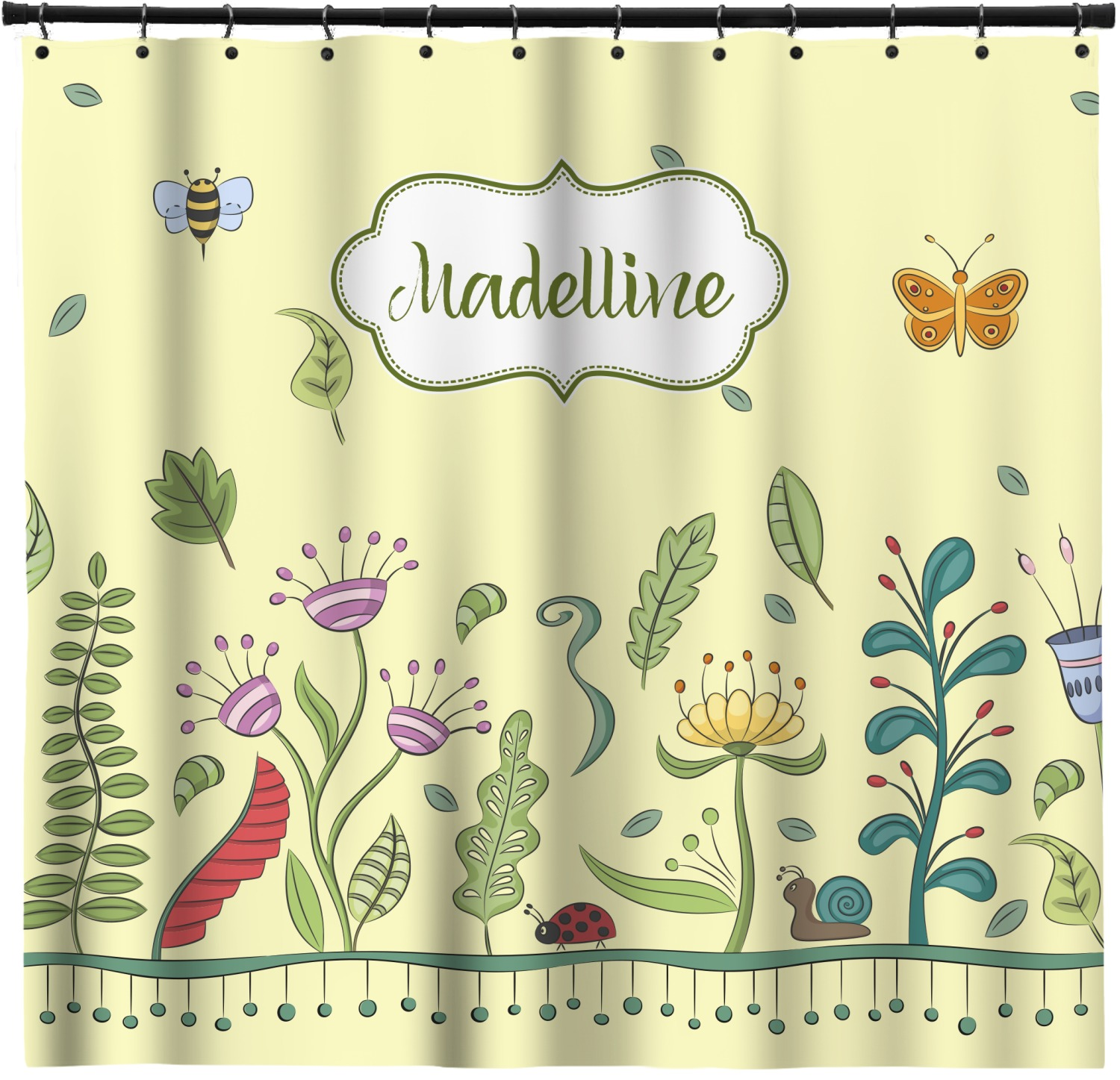 Nature inspired shower curtain 69 x70 personalized Nature inspired shower curtains