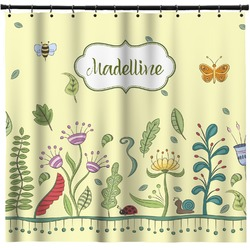 Nature Inspired Shower Curtain (Personalized)