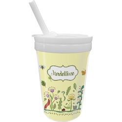 Nature Inspired Sippy Cup with Straw (Personalized)