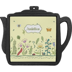 Nature Inspired Teapot Trivet (Personalized)