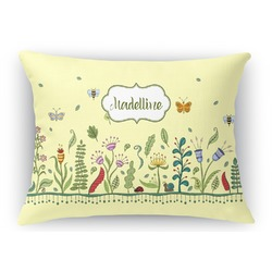 Nature Inspired Rectangular Throw Pillow Case (Personalized)