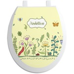 Nature Inspired Toilet Seat Decal (Personalized)