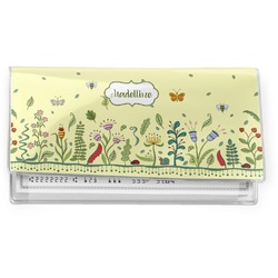 Nature Inspired Vinyl Checkbook Cover (Personalized)