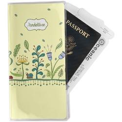 Nature Inspired Travel Document Holder