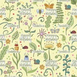 Nature Inspired Wrapping Paper (Personalized)