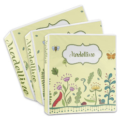 Nature Inspired 3-Ring Binder (Personalized)