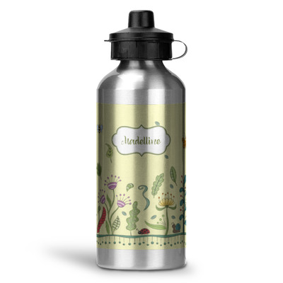 Nature Inspired Water Bottle - Aluminum - 20 oz (Personalized)