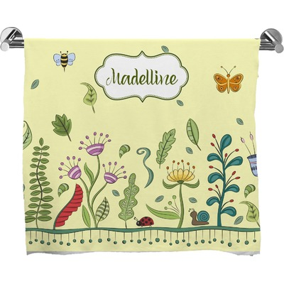 Nature Inspired Bath Towel (Personalized)