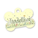 Nature Inspired Bone Shaped Dog ID Tag (Personalized)