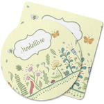 Nature Inspired Rubber Backed Coaster (Personalized)