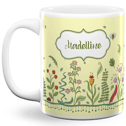 Nature Inspired 11 Oz Coffee Mug - White (Personalized)