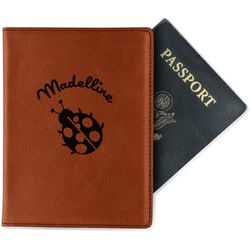 Nature Inspired Leatherette Passport Holder (Personalized)