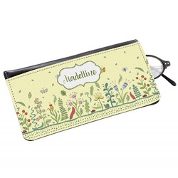 Nature Inspired Genuine Leather Eyeglass Case (Personalized)