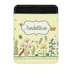 Nature Inspired Genuine Leather Money Clip (Personalized)