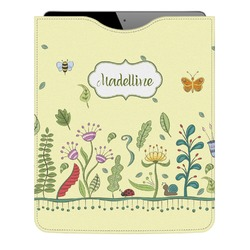 Nature Inspired Genuine Leather iPad Sleeve (Personalized)