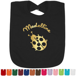 Nature Inspired Foil Baby Bibs (Personalized)