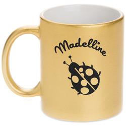 Nature Inspired Gold Mug