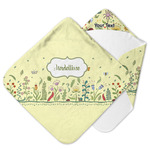 Nature Inspired Hooded Baby Towel (Personalized)