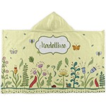 Nature Inspired Kids Hooded Towel (Personalized)