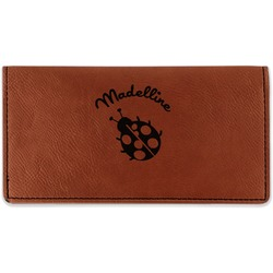 Nature Inspired Leatherette Checkbook Holder (Personalized)