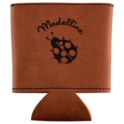 Nature Inspired Leatherette Can Sleeve (Personalized)