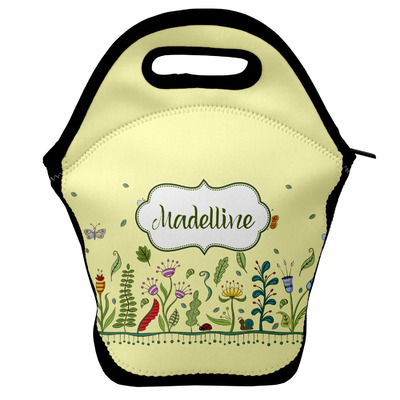 Nature Inspired Lunch Bag w/ Name or Text