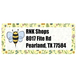 Nature Inspired Return Address Labels (Personalized)