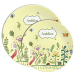 Nature Inspired Melamine Plate (Personalized)