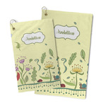Nature Inspired Microfiber Golf Towel (Personalized)