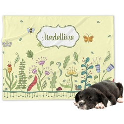 Nature Inspired Dog Blanket (Personalized)