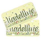 Nature Inspired Mini/Bicycle License Plates (Personalized)