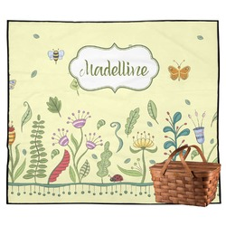 Nature Inspired Outdoor Picnic Blanket (Personalized)