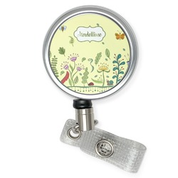Nature Inspired Retractable Badge Reel (Personalized)