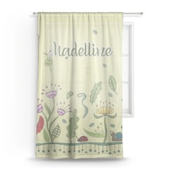 "Nature Inspired Sheer Curtain - 50""x84"" (Personalized)"