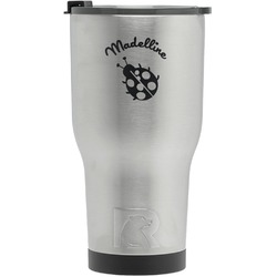 Nature Inspired RTIC Tumbler - Silver - Engraved Front (Personalized)