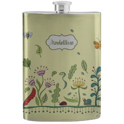 Nature Inspired Stainless Steel Flask (Personalized)