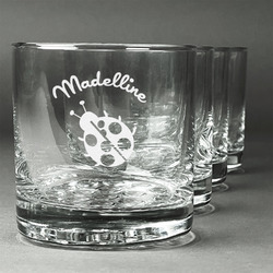 Nature Inspired Whiskey Glasses (Set of 4) (Personalized)