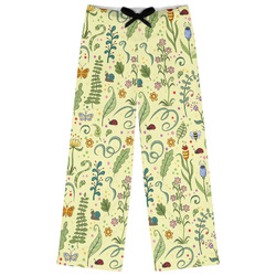 Nature Inspired Womens Pajama Pants - M (Personalized)