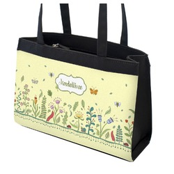 Nature Inspired Zippered Everyday Tote (Personalized)