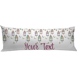 Moroccan Lanterns Body Pillow Case (Personalized)