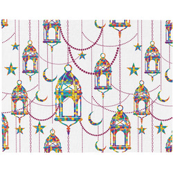 Moroccan Lanterns Placemat (Fabric) (Personalized)