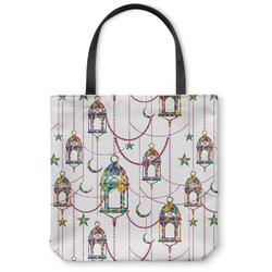 Moroccan Lanterns Canvas Tote Bag (Personalized)