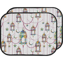 Moroccan Lanterns Car Floor Mats (Back Seat) (Personalized)
