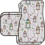 Moroccan Lanterns Car Floor Mats (Personalized)