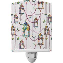 Moroccan Lanterns Ceramic Night Light (Personalized)