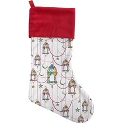 Moroccan Lanterns Christmas Stocking (Personalized)