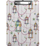 Moroccan Lanterns Clipboard (Personalized)