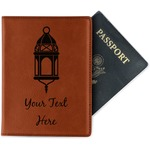 Moroccan Lanterns Leatherette Passport Holder (Personalized)