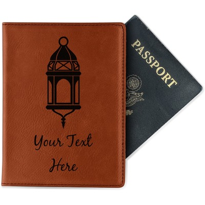 Moroccan Lanterns Leatherette Passport Holder (Personalized)